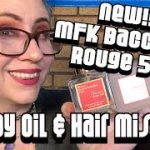 Reviewing NEW Maison Francis Kurkdjian Baccarat Rouge 540 Hair Mist & Body Oil
