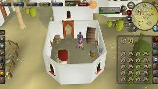 OSRS MOBILE quick guide on how to blackjack on mobile