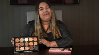 Rude Cosmetics 21 Eyeshadows Mean Girl and Kleancolor Pro Nude Exposed Palette Swatches