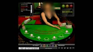 Playing Live Casino Blackjack at Unibet with LIVE commentary – PART 1/2
