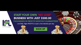 ROULETTE STRATEGY- $50 UNDER 10 MIN, ALL THE TIME- ROULETTE SOFTWARE- ONLINE CASINO