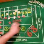 Craps strategy 4 rolls and down + come bet progression