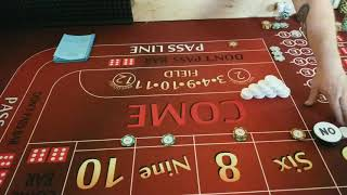 How to make $500 a day playing craps.