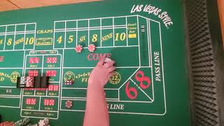 Craps strategy. 3 and Out Expanded version