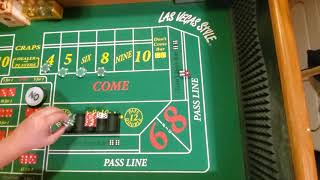 Craps strategy. Tool Box video #10. PLAY FOR FREE!!