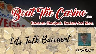 💸Let's Talk Baccarat Episode 31 LIVE FROM VEGAS June 26th