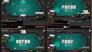 50NL Ignition 6 max Texas Holdem Poker Part 1 of 3