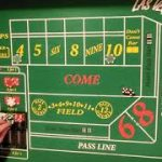 Craps strategy using the 4 and 10