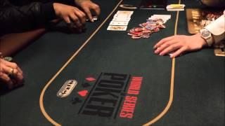 LIVE $1/2 NLHE (NO LIMIT HOLD EM') CASH GAME #1