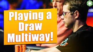Playing a Draw Multiway! [TOUGH SPOT]
