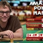 TOP 5 MOST AMAZING POKER HANDS EVER SEEN!