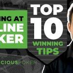 10 Tips for Winning at Online Poker in 2020: Online poker tips & strategies- Tournament & Cash game