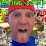 Christopher Mitchell Flat Betting Baccarat Winning Strategy Day 12- $2,375 Cash Profit.