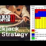 Red Dead Redemption 2: Playing Blackjack Using the Basic Strategy No Commentary