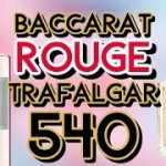 IS DIOR ROUGE TRAFALGAR, A BACCARAT ROUGE 540 CLONE?