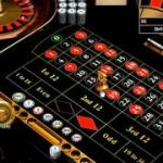 Roulette strategy by betting 50 cents on 1 number straight up.