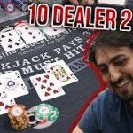 🔥 DEALER DOMINATION 🔥 10 Minute Blackjack Challenge – WIN BIG or BUST #40