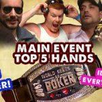 2008 WSOP Main Event – Top 5 Hands | World Series of Poker