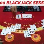 NEW DEALER – Live Blackjack Session $1,500 Buy In #1