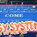 EASY BEGINNER CRAPS SYSTEM – Double Tap Craps | Live Craps Session #1