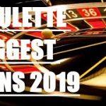 Roulette Biggest Wins 2019 (BIG WINS)