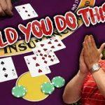 🔥 UNIQUE STRATEGY 🔥 10 Minute Blackjack Challenge – WIN BIG or BUST #44