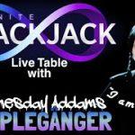 Infinite Blackjack Big Win with Lookalike 👀 Live Dealer