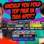 WSOP Main Event 2019 Final Table Strategy | Hossein Ensan vs Timothy Su