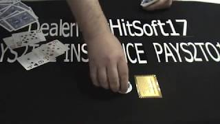 BlackJack Strategy Demo (double deck)