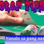 Poker Tips. (Nanalo ko 4 pesos) 😄😄
