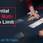01| Introduction to Essential Poker Math for No Limit