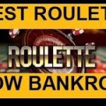 BEST ROULETTE STRATEGY for SMALL BANKROLL