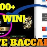 €5100+ BACCARAT WIN | BEST BACCARAT PREDICTOR & STRATEGY TO WIN | BACCARAT CODES