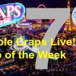 CRAPS: Bubble Craps Live: Tip of the Week 02/06/2020