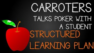 Carroters Talks Poker With Student: Ep 3 – Structured Learning Plan