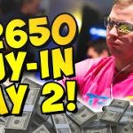 $2,650 VENOM Day 2 + Writing a Poker Book!?