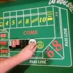 Craps strategy I saw at the  Casino