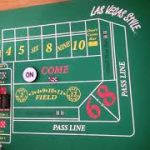 Craps strategy.  Playing Dont cover bets + place bets using bankroll as protection