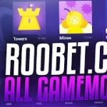 DICE CRASH MINES AND ROULETTE ON ROOBET