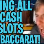 LOSING ALL MY CASH ON SLOTS AND BACCARAT! ROOBET!