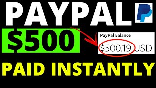 $500 Paid INSTANTLY & Earn FREE PAYPAL MONEY – New Website To Make Money From Home in 2020