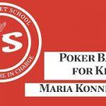 Maria Konnikova teaches kids how to play poker