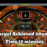 How to earn money with Evolution Auto Roulette  – Execution – Dozen & Column (Part-4)