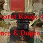 MFK Baccarat Rouge 540 Best Clones/Dupes