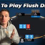 How To Play Flush Draws Like Bencb! | RYE Poker Tips