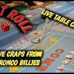 Real Live Casino Craps – Craps from Bronco Billy's