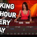 CheetosBaccarat Winning Strategy – $25/Hour Cash Profit Live Casino!!