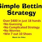 SIMPLE BETTING STRATEGY