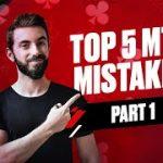 TOP 5 MTT MISTAKES with Federico Sztern (Part 1)