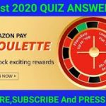 Amazon Roulette QuizAnswers Today | 20 August  | Amazon Pay Roulette Answers |